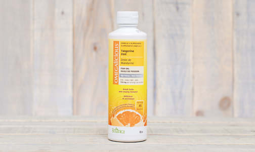 Omegalicious - Tangerine Zest High Potency Fish Oil- Code#: VT1530