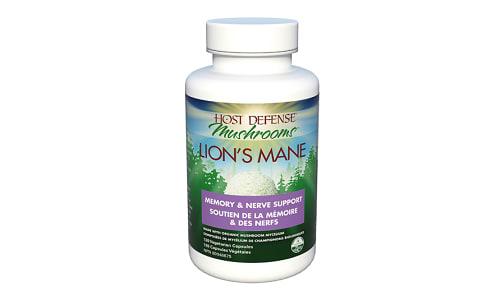 Organic Lion's Mane (Hericium Erinaceus) Capsules- Code#: VT1543