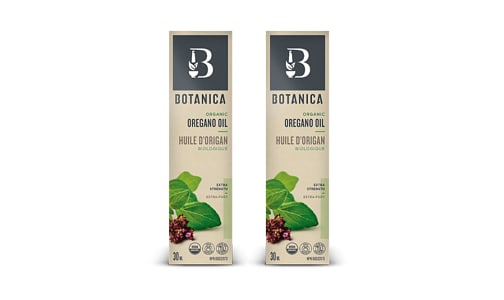 Organic Oregano Oil Extra Strength 1:1 - Buy One Get One- Code#: VT1551