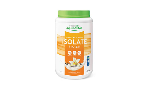 All Natural Isolate Vanilla- Code#: VT1594