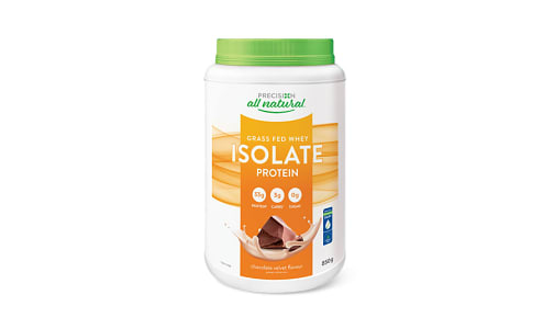 All Natural Isolate Chocolate- Code#: VT1595
