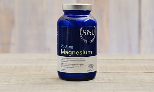 Magnesium 250mg - with 600mg malic acid- Code#: VT1618