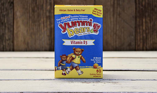 Yummi Bears Vitamin D- Code#: VT1642