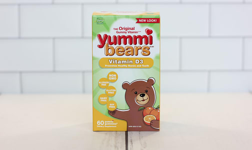Yummi Bears - Vitamin D3- Code#: VT1642