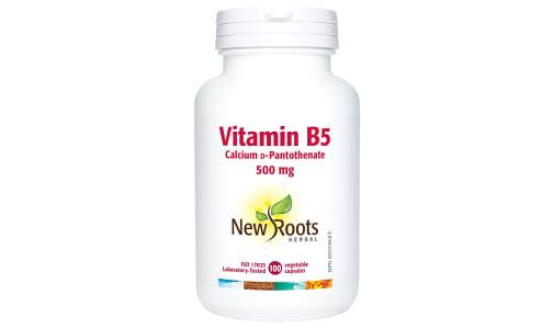 Vitamin B5 Pantothenic Acid 500 mg- Code#: VT1750