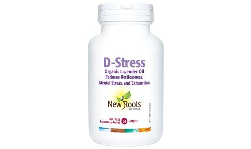 Organic D-Stress (Lavender Oil)- Code#: VT1769