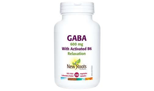 GABA w/B6 600 mg- Code#: VT1779