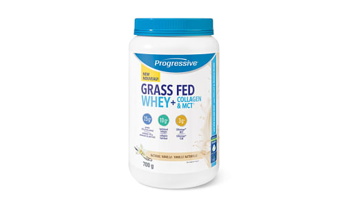 Grass Fed Whey and Collagen MCT Vanilla- Code#: VT1801