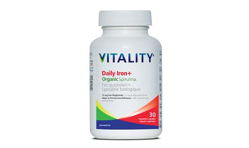 Daily Iron and Organic Spirulina- Code#: VT1848