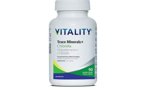 Trace Minerals and Chlorella- Code#: VT1856