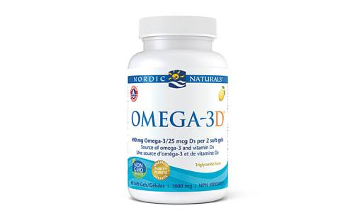 Omega 3D, Lemon- Code#: VT1887
