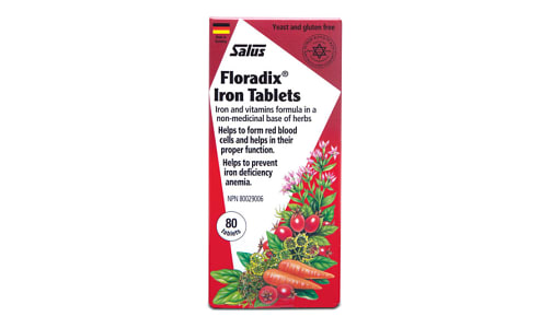 Floradix Iron Tablets- Code#: VT1912