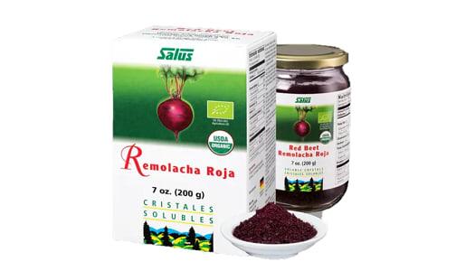 Organic Red Beet Crystals- Code#: VT1914