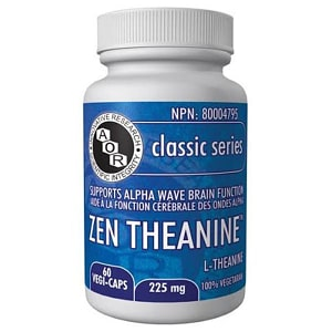 Zen Theanine 225mg- Code#: VT1969