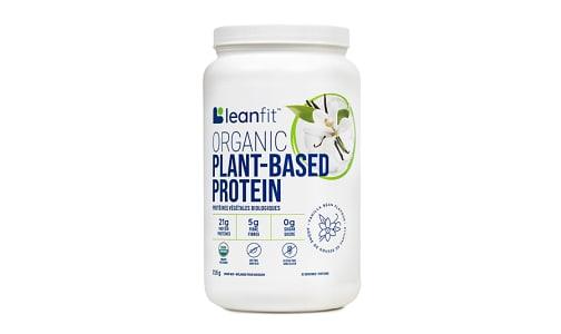 Organic Plant Protein Vanilla- Code#: VT2083