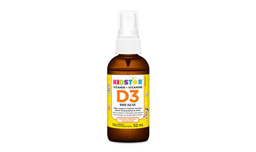 Vitamin D3 Spray Organic Orange- Code#: VT2095