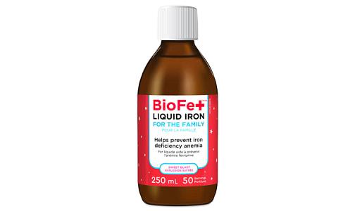 BioFe+ Iron Liquid for the Family Sweet Blast- Code#: VT2096
