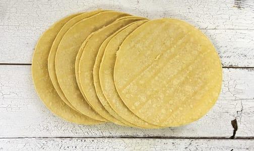 Organic 8  Fajita - Corn Tortillas (Frozen)- Code#: BR3018