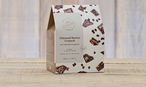 Dark Chocolate & Espresso Almond Butter Crunch- Code#: DE0452