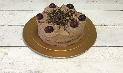 Dark Cherry Forest Cake- Code#: DE3187