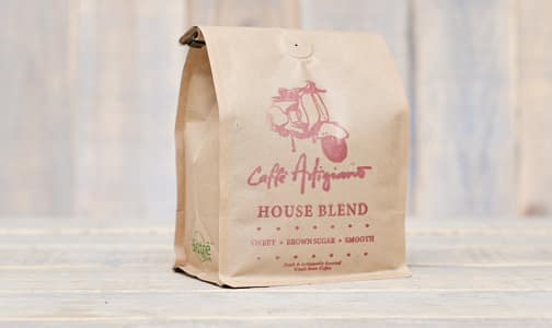 Café Artigiano House Blend - Whole Bean- Code#: DR0627