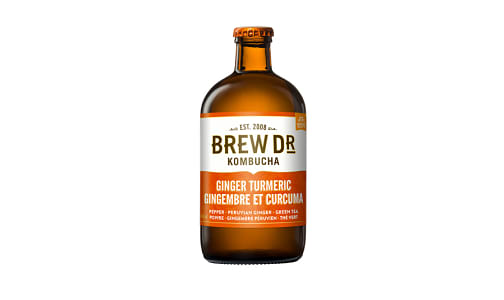 Organic Ginger & Turmeric Kombucha- Code#: DR3064