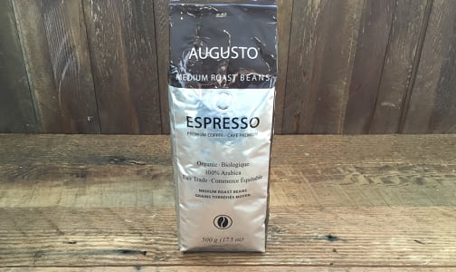 Organic Espresso Medium Roast Coffee Beans- Code#: DR8051