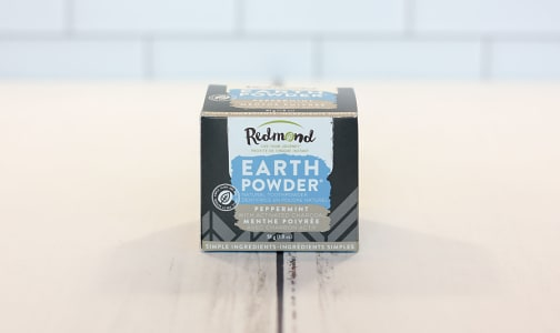 Earthpowder Peppermint + Charcoal- Code#: PC0459