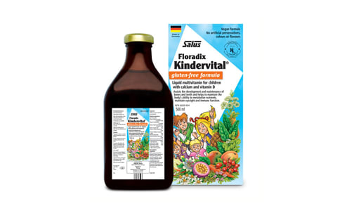 Kindervital®  Multivitamin for Children- Code#: PC0939