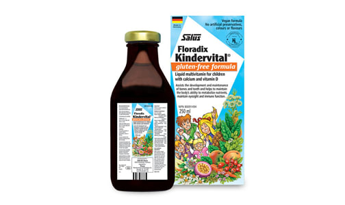 Kindervital® Multivitamin for Children- Code#: PC0942