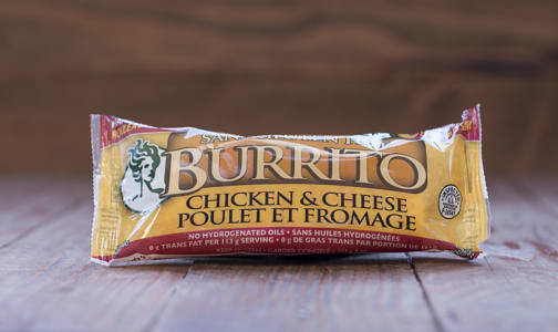 Chicken & Cheese Burrito (Frozen)- Code#: PM1200