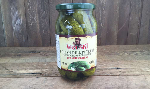 Polish Dill Pickles- Code#: SA8058