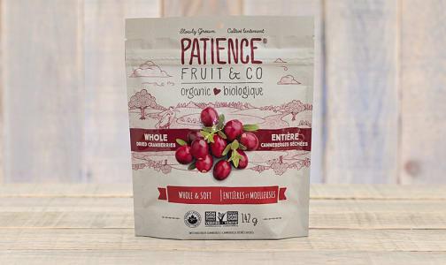 Organic Whole & Soft Cranberries- Code#: SN9552