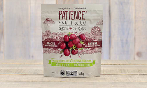 Organic Whole & Juicy Cranberries- Code#: SN9553