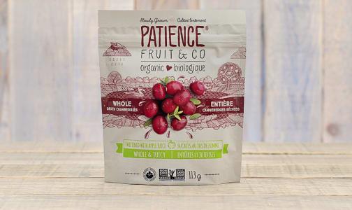 Organic Whole & Juicy Cranberries- Code#: SN9553