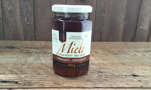 Organic Italian Chestnut Honey- Code#: SP8006