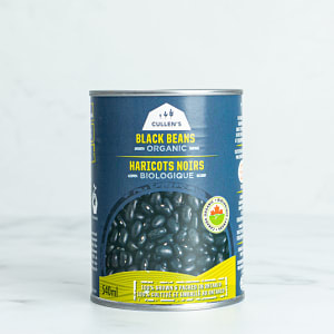 Organic Canned Black Beans- Code#: BU0714