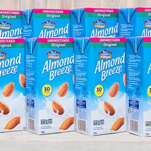 Almond Breeze - Unsweetened - CASE- Code#: DR046-CS