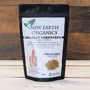Organic Activation Extracted Scarlet Cordyceps Mushroom- Code#: PC410681