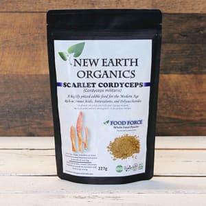 Organic Activation Extracted Scarlet Cordyceps Mushroom- Code#: PC410682
