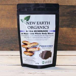 Organic Mega Mushroom Activation Extracted 16 Mushroom Blend- Code#: PC410704