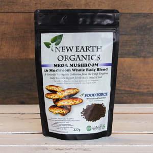 Organic Mega Mushroom Activation Extracted 16 Mushroom Blend- Code#: PC410705
