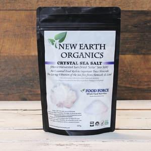 Organic Hand Harvested Crystal Sea Salt- Code#: PC410707