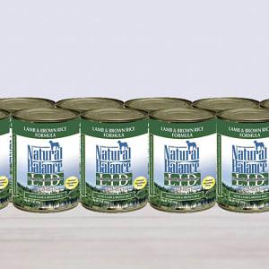 Limited Ingredient Diet - Lamb & Brown Rice Dog Formula - CASE- Code#: PD036-CS
