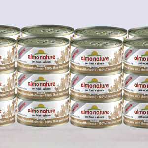 Tuna with Cheese Cat Food - CASE- Code#: PD076-CS