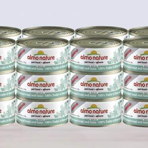 Trout & Tuna Cat Food - CASE- Code#: PD082-CS