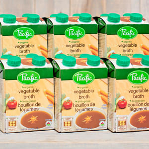 Organic Vegetable Broths - CASE- Code#: PM938-CS