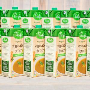 Organic Low Sodium Vegetable Broth - CASE- Code#: PM942-CS