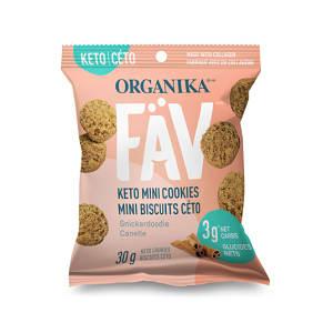 FaV Keto Mini Cookies - Snickerdoodle- Code#: SN2000