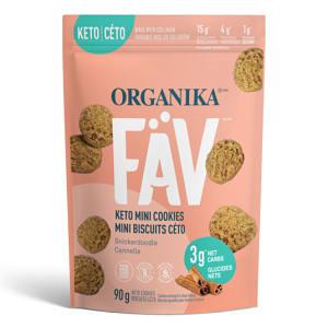FaV Keto Mini Cookies - Snickerdoodle- Code#: SN2003
